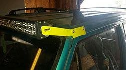 Led Light Bar Roof Windshield Mounting Bracket Kits Fit Jeep