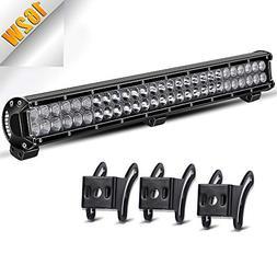 """LED Light Bar TURBOSII 25"""" Inch 162W LED Work Light Spot Flo"""
