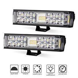 LED Light Pods, Rigidhorse 2PCS 60W 6 Inch LED Light Pods Fl