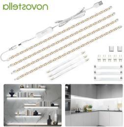Novostella LED Strip Light Bar Under Cabinet Lighting Kit Sh