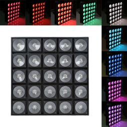 Matrix Stage light RGB 25 LED Light 800W Waterproof IP33 DJ