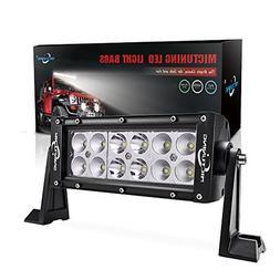MICTUNING 7.5 Inch 36W Combo Led Light Bar - 2500 Lumen, 600