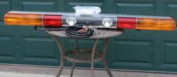 "NOS 1997 Federal Signal ATV 8000 61"" Strobe & Halogen Light"