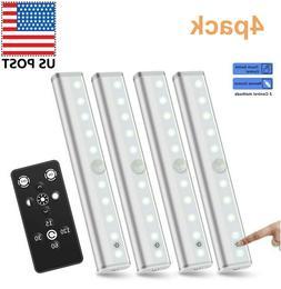 Remote Control LED Lights Under Cabinet Lighting Bar Wireles