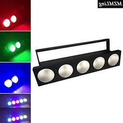 512w RGBW 4-In-1 Matrix Light Led Wall Wash Light 5/9CH DMX