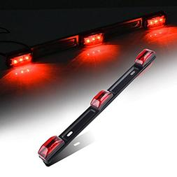Catinbow Side Marker Light 3 Light 9 LED Super Bright Red Cl
