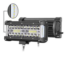 side shooter led pods 300w 7 inch