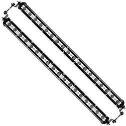 Ultra Slim 19 inch 54W 6000K CREE LED Spot & Flood Light Com