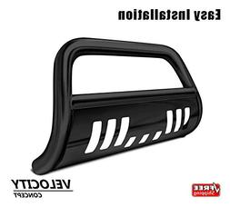 Velocity Racing Black Heavy Duty Bull Bar Brush Push Bumper